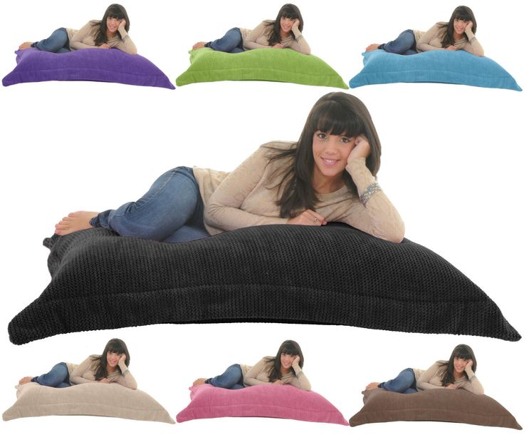 SOFT & SNUGLY CORD Giant Beanbag Floor Cushion Chair Bed Lounger Bean Bag Gilda | eBay