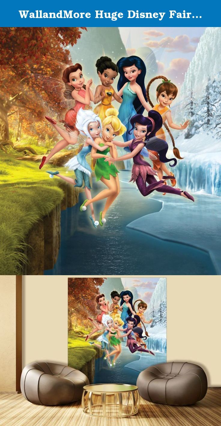 "WallandMore Huge Disney Fairytale Wall Decal Mural For Girls Bedroom 70.5"" W by 79.5"" H - XL Mural - Disney Room Decor - Girls Gifts - Disney Playroom - Princess Wall Decor. WallandMore wall decal mural will transform the total look and atmosphere of your kid's room! General information: Made of Eco friendly and Non toxic materials Durable & top quality Special blue back paper Size by Inches: 70.5"" W by 79.5"" H 100% satisfaction guarantee We believe that with WallandMore's wall decal…"