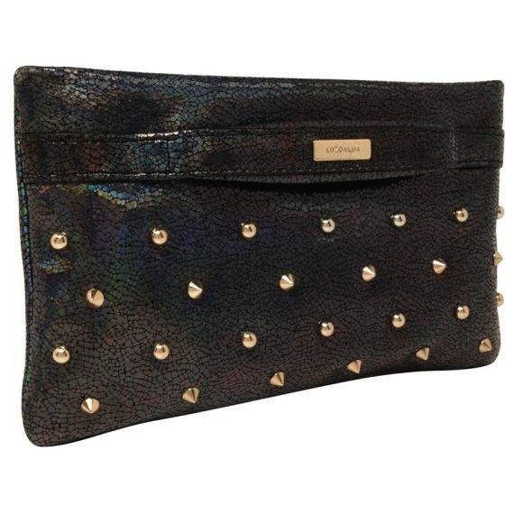 VIDA Leather Statement Clutch - Honeymoon cluth by VIDA 5z73E