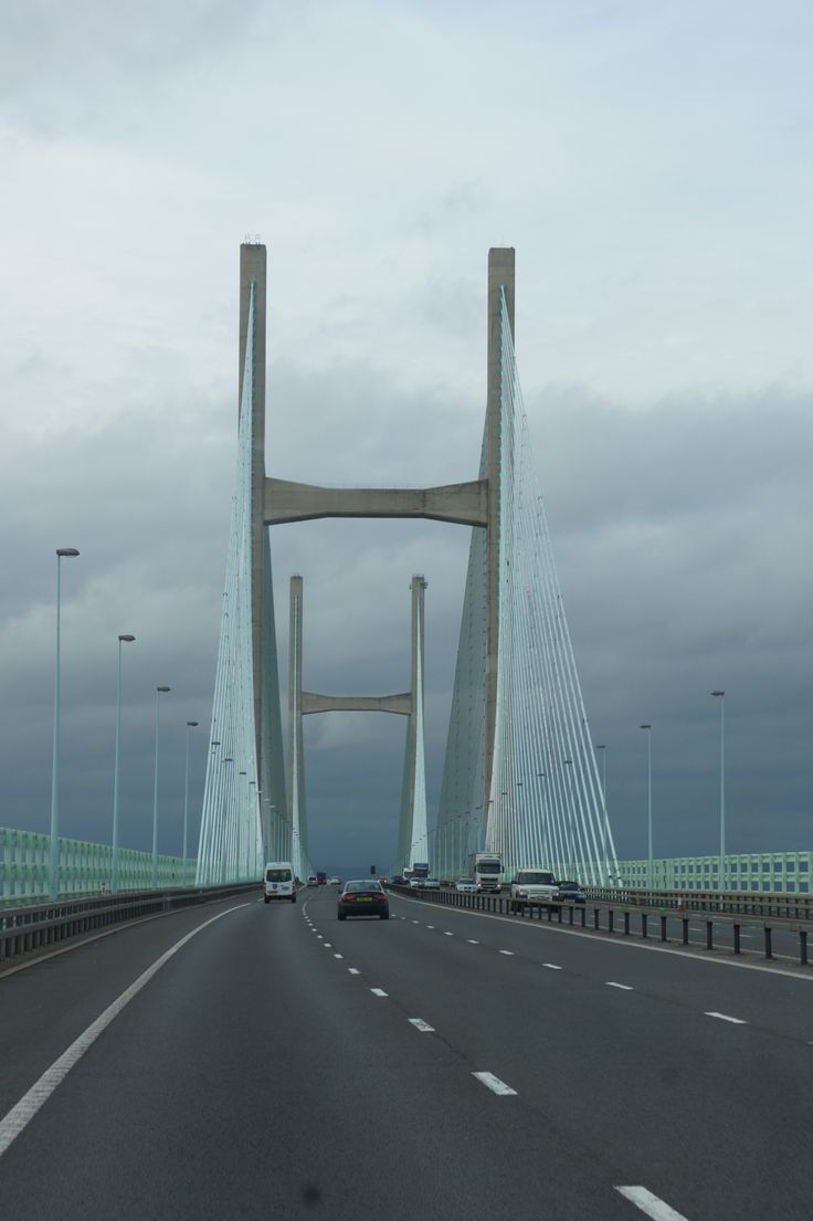 Crossing the River Severn into Wales (asm 2011)   We crossed this bridge!!