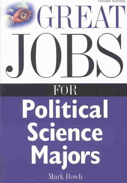 """GREAT JOBS SERIES ANSWERS THE QUESTION, """"WHAT CAN I DO WITH A MAJOR IN . . . ?"""" Every college major gives students valuable skills and training, perfect for a wide range of careers. The Great Jobs ser"""