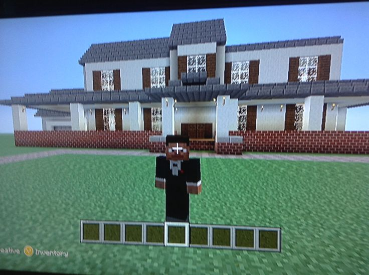my biggest house ever in minecraft