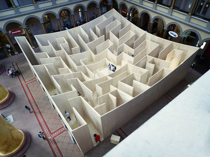 BIG Maze Opens at National Building Museum