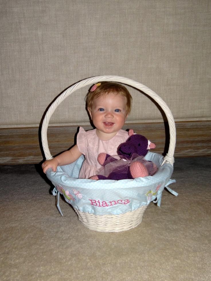 Large PBK Easter Basket = Photo Prop