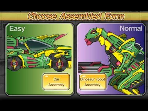 Робот-Леопард_Робот-Динозавр-Экскаватор_Робот-Динозавр-Гоночная машина_М...