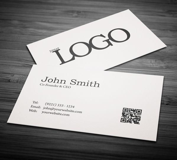 Gestalten Und Drucken Sie Ihre Eigenen Visitenkarten