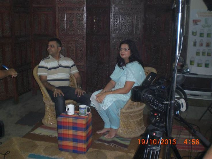 Interview in Jia T.V