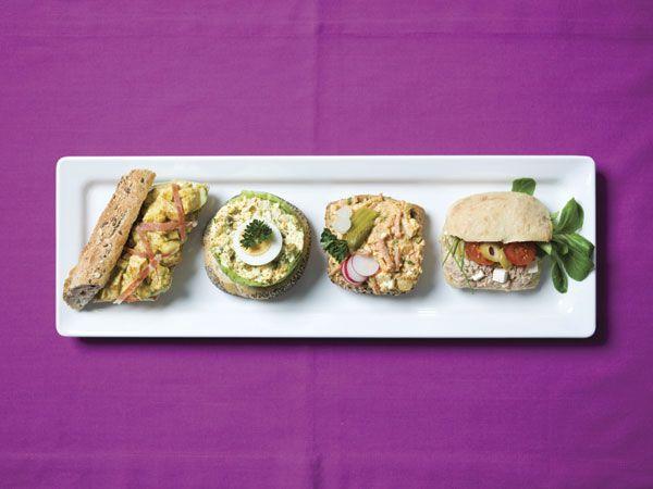 Broodje pikante tonijnsalade