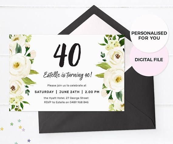 7 best Birthday party ideas for adults images on Pinterest - best of birthday invitation adults