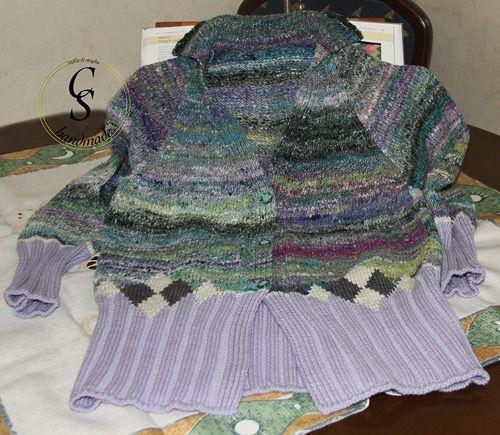 Cri e Scott - knitting's blog: Cardigan con Noro Kibou