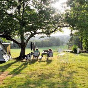 Minicamping en charmecamping Le Pagnon, 6 plaatsen, Dordogne, Frankrijk #camping #klein #dordogne #frankrijk