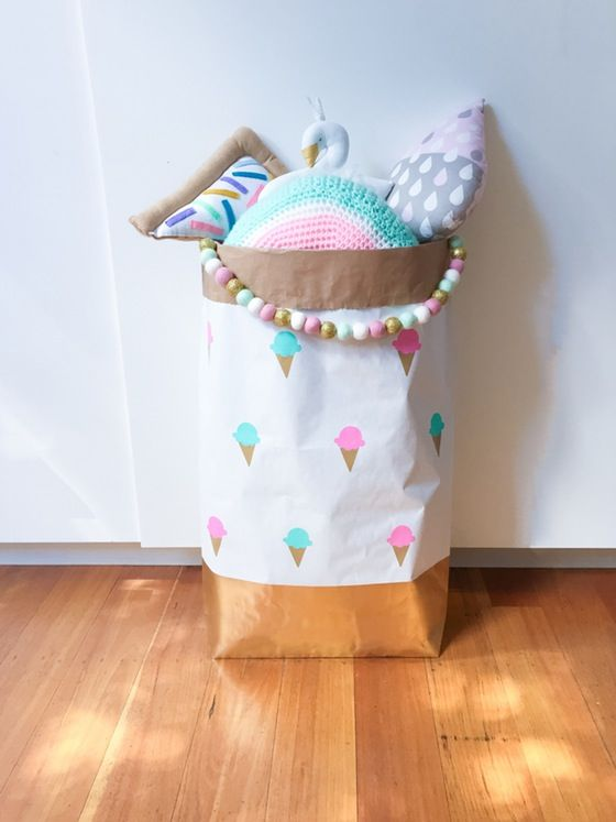 Image of Delicious Icecream paper storage sack