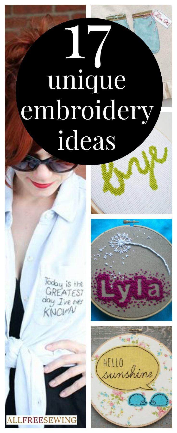 15 Free Embroidery Patterns And How To Embroider Tutorials