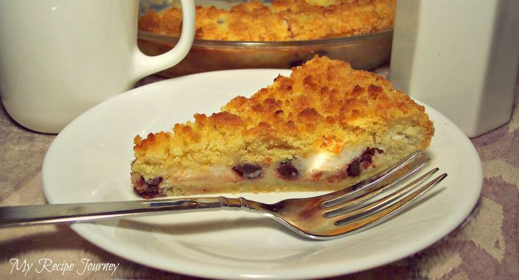 Cannoli Crumb Pie...so easy to make and so delicious! I'm hooked on this pie!