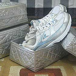Aluminum Handicrafts - Shoe box set of 3