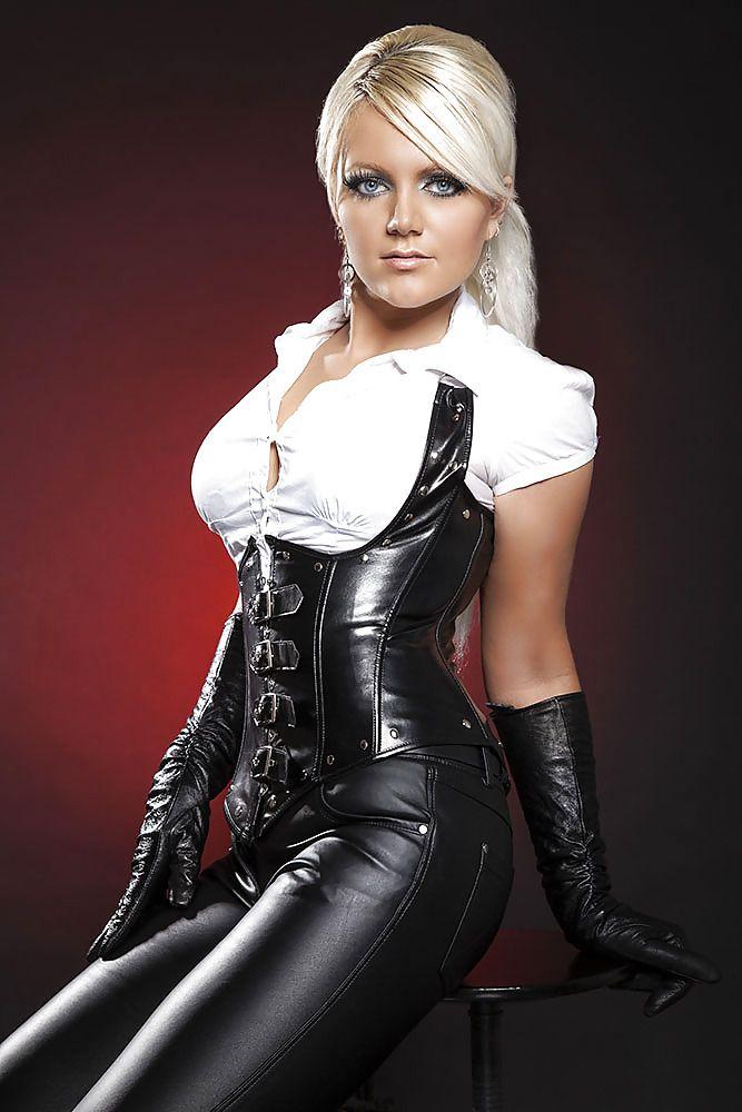 Female dominatrix outfit