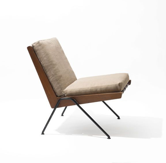 Robin Day, Chevron chair, édition Hille, 1959