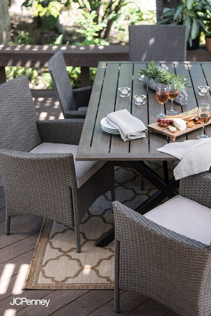 Springtime Calls For Poolside Lounging And Outdoor Dining And