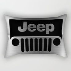 jeep logo Rectangular Pillow