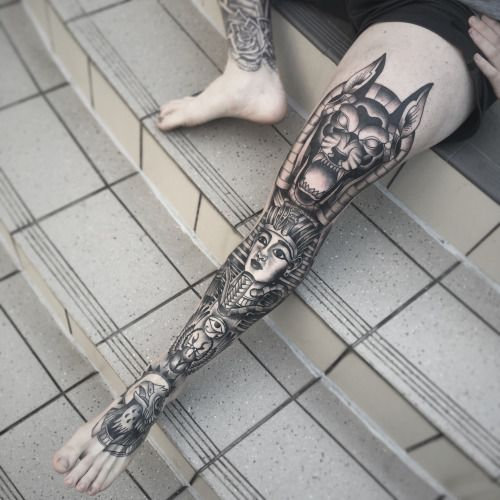 Best 25 Knee Tattoo Ideas On Pinterest: Best 25+ Leg Sleeve Tattoos Ideas On Pinterest