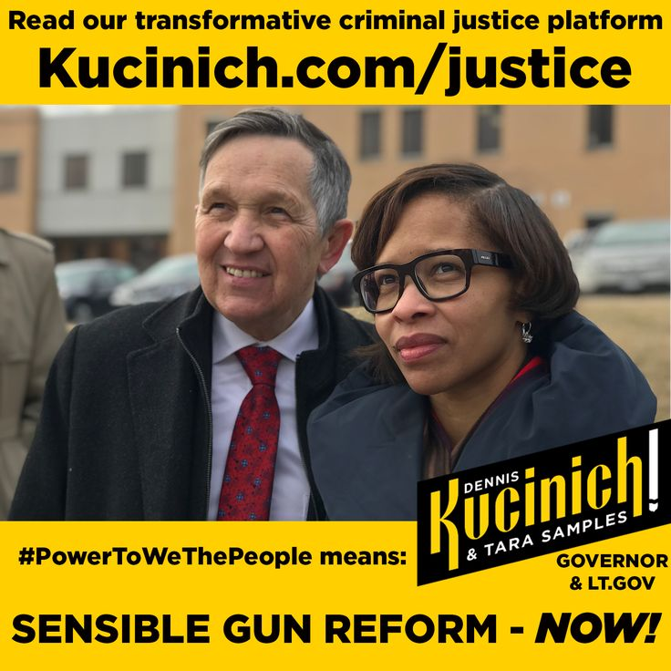 """#USA and #OHIO - if you are tired of the divisive, regressive (and financially unequal) policies of the GOP and neoliberal establishment Dems... support the amazing Dennis Kucinich for Governor of Ohio. A former Congressman and Frontrunner Presidential Candidate, Dennis was the youngest mayor of a major city in the US. He's fought for worker rights, and citizens rights, for decades. Back in the day, he fought SO hard for the citizens of Cleveland, against the local business establishment, that a """"hit"""" on his life was taken out. Most recently, he was Ohios most popular Congressman... getting reelected SO many times, it took GOP gerrymandering to get him out of office.    He's tough, smart, and tells it like it is... in the same way that Bernie Sanders does. In fact, Dennis is SO good at logically, and patiently, explaining the common sense """"big picture"""" policies of """"We the People"""" that he's become the """"go to"""" spokes person for the progressive point of view for #Fox News.    Want to know something even MORE interesting?  In biPartisan surveys, where issues are laid out, and potential solutions given, the MAJORITY of American voters AGREE with the policies Dennis fights for!  88% of Democrats, 76% of Independents AND, amazingly, 65% of Republicans, agree with Dennis on the solutions our country needs to move forward and reclaim our place as #1 in the world. In other words... making American great AGAIN.    I was shocked when I saw the survey... but it shows that we ALL AGREE on more than we disagree on, when divisive language and """"propaganda"""" is taken out of political rhetoric. What HIDES our agreement is """"bumper sticker"""" politics and divisive buzz words that obfuscate the real meaning behind the catchy phrases and funny name calling.    If you want to make a small contribution toward moving America forward... consider helping Dennis become another BLUE Governor!    https://secure.actblue.com/donate/kucinichsamples2018    #Democrat #Politics #Progressive #Kucinich #Wor"""