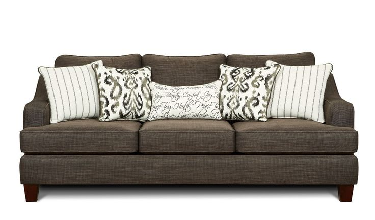 My couch different pillows | Armour Apt Living Room | Sofa ...