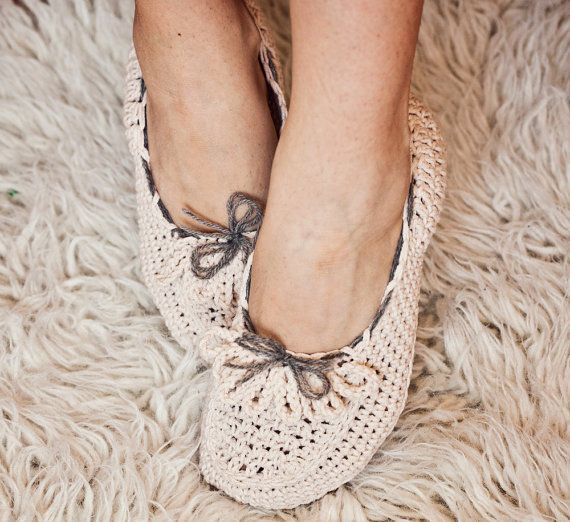 Instant download  - Crochet PATTERN (pdf file) for slippers - Ladies Loafers via Etsy