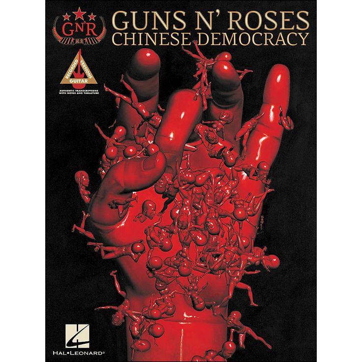 Hal Leonard Guns N' Roses Chinese Democracy Tab Book