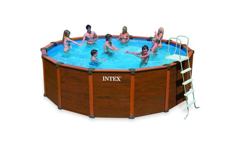 Piscina madera 478x124 Intex #piscinas #desmontables