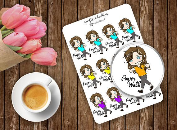 Check out this item in my Etsy shop https://www.etsy.com/listing/539008455/power-walk-planner-stickers-fitness