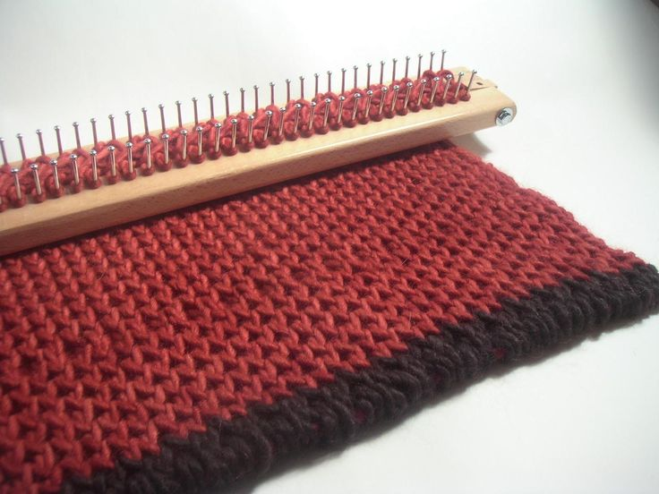Rectangular Loom Knitting Patterns : 17 Best images about (Looms)-Rectangle Looms on Pinterest Loom knitting sti...