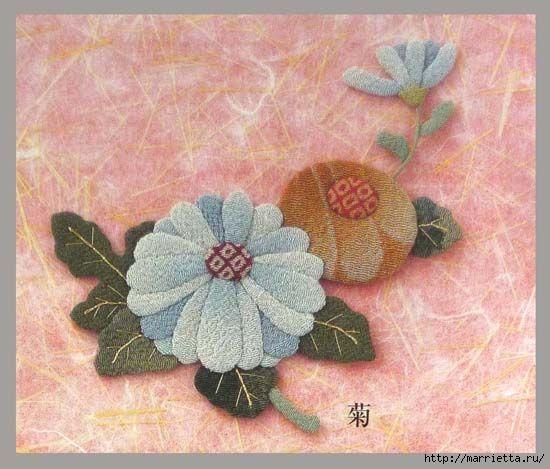 Цветочная аппликация от китайских мастериц (12) (550x469, 149Kb)
