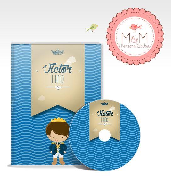 DVD + Capa Personalizados - Príncipe