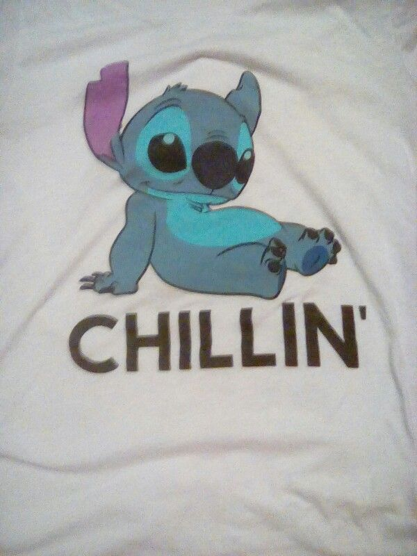 Stitch best shirt ever!
