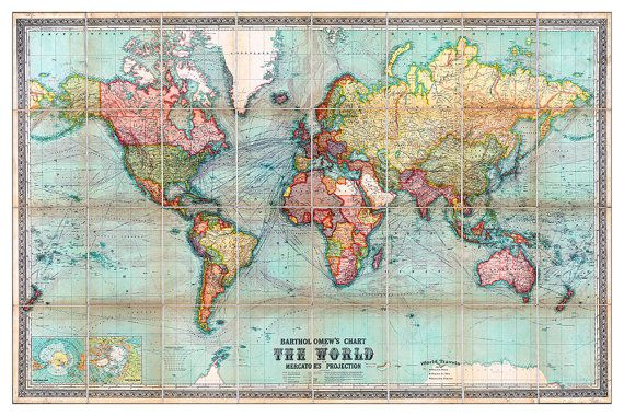 Travel Maps – Personalized Travel Maps