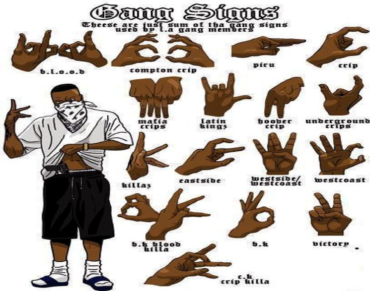 How-To with: Understand gang signs | The VALiens ...