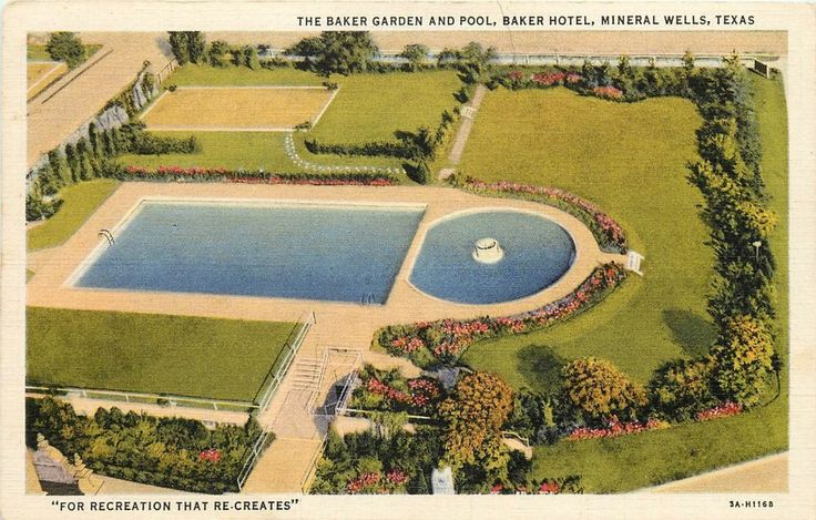 17 Best Images About Baker Hotel Mineral Wells Tx On Pinterest Fear Factor The Mid And Pools