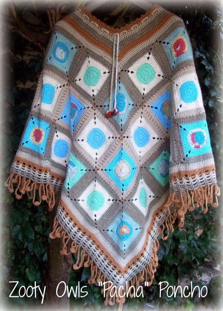 Crochet Poncho:    The