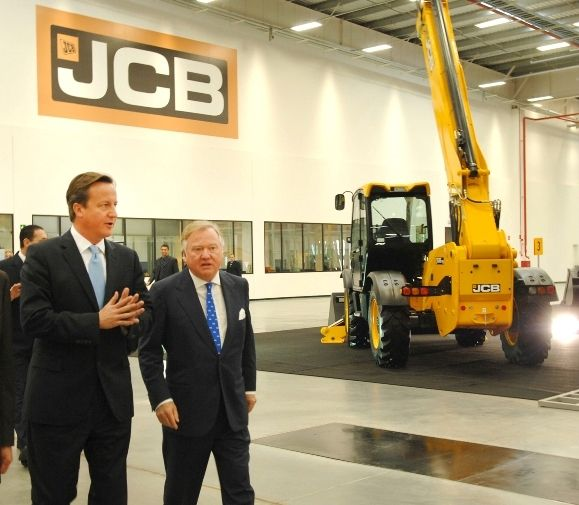 British PM opens new JCB factory as company goes for growth | JCB