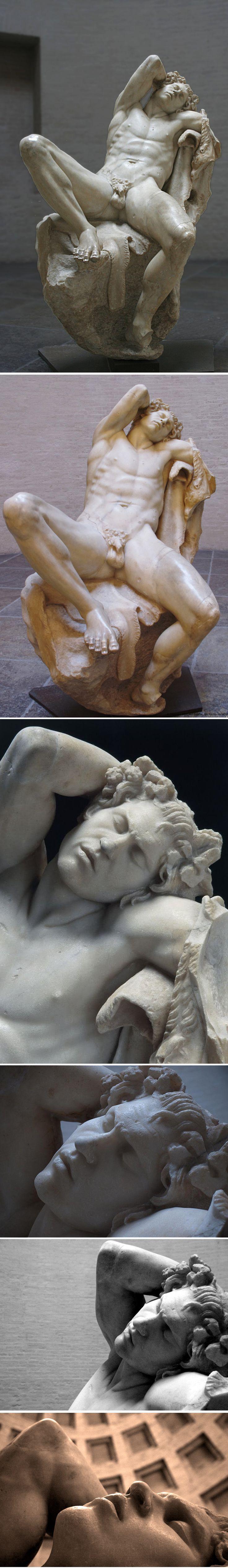 Fauno Barberini / Фавн Барберини или Пьяный сатир — мраморная статуя эллинистической эпохи, созданная неизвестным скульптором пергамской школы ок. 200 г. до н. э.