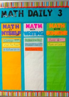 Starting Out  w math daily 3