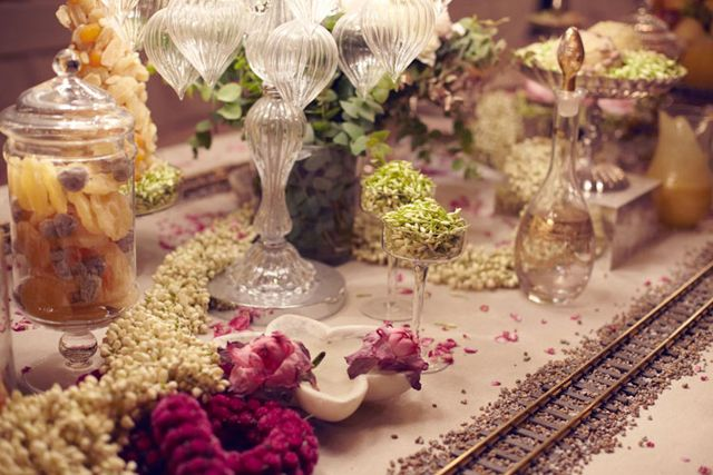 party table: Banquet Table, Chanel Paris Bombay, Chanel Indian, Chanel Bombay, Party Table, Indian Inspiration, Indian Wedding, Bombay Dream