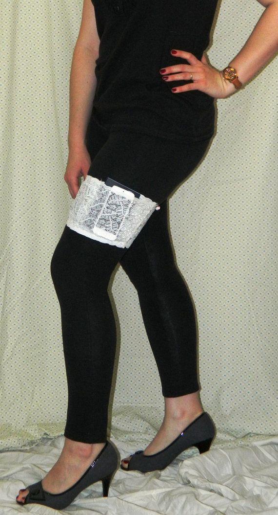 Lace Garter Purse Thigh