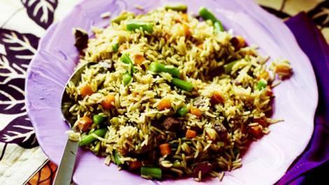 Nigerian fried rice recipe : SBS Food