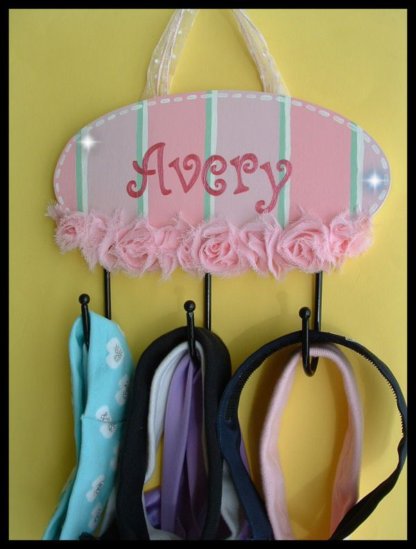 Cute DIY headband holder