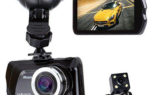 blusmart HD 1080P voiture DVR Dash Caméra Caméscope Enregistreur 7,6cm Écran vidéo automatique avec fonction vision nocturne caméra…