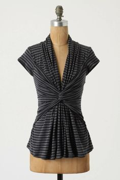 Love this top - Sewing tutorial on how to make drape tops
