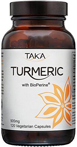 From 51.50 Organic Turmeric 500mg With Bioperine - 120 Veg Capsules By Taka Turmeric | Excellent Curcumin Absorption From The Addition Of Bioperine | Organic Turmeric Certified By Soil Association