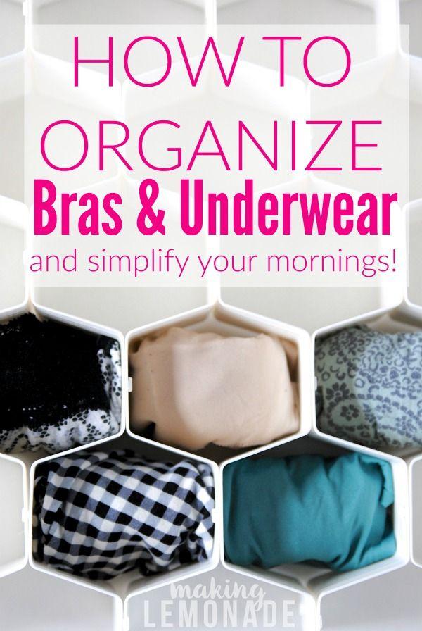 How to Organize Your Underwear Drawer {KonMari Method} | Making Lemonade