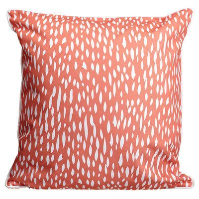 Island Girl Home Hipster Coral Throw Pillow Color:  opportune nature  joyful world
